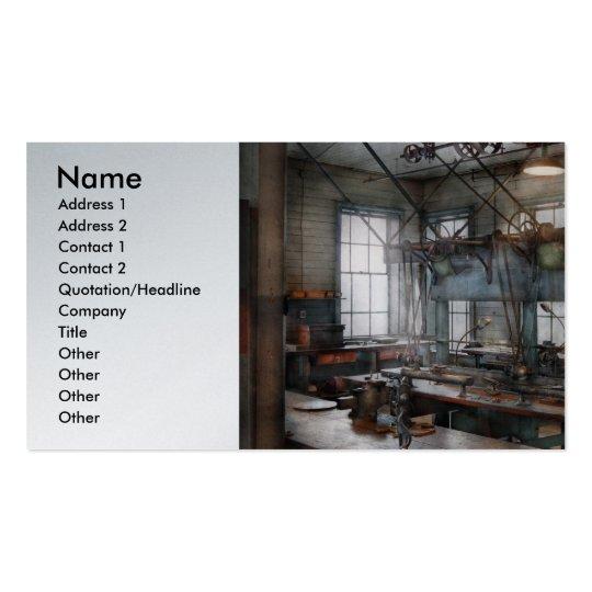 Maquinista - Steampunk - el cuarto del chisme Tarjetas De Visita