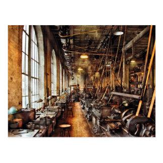 Maquinista - tienda de máquina circa 1900's tarjetas postales