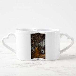 Maquinista - tornos - el disco original de la set de tazas de café