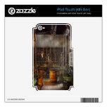 Maquinista - tornos - paraíso de los maquinistas calcomanía para iPod touch 4G