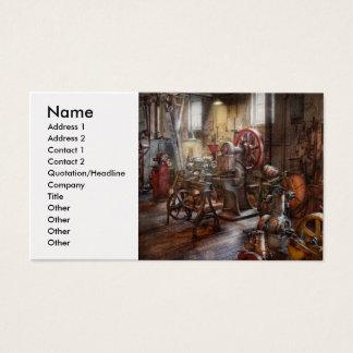 Maquinista - un cuarto por completo de memorias tarjetas de visita