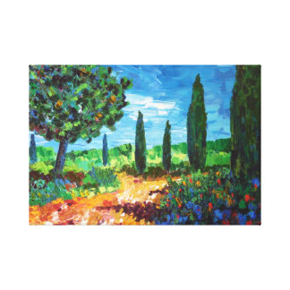Maquis Canvas Print