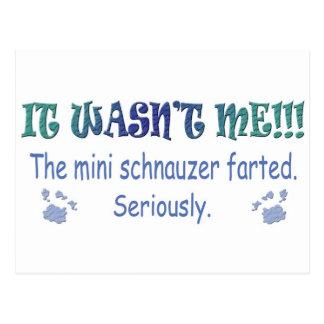 mar112015fartMiniSchnauzer.jpg Postcard