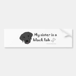 mar152015BlackLabSister.jpg Bumper Sticker