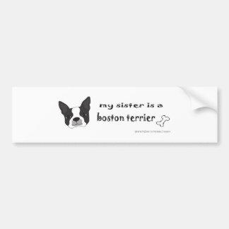 mar152015BostonTerrierSister.jpg Bumper Sticker