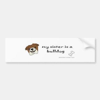 mar152015BulldogTanSister.jpg Bumper Sticker