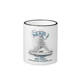 Mar1 pesca deportiva 31' taza de café clásica de taza a dos colores