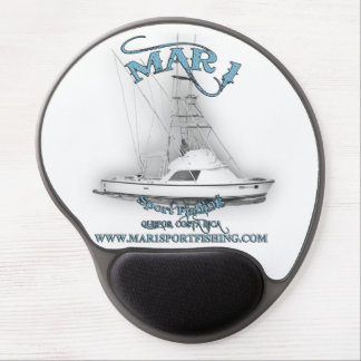 Mar1 Sport Fishing 31' Bertram Gel Mousepad Gel Mouse Pad