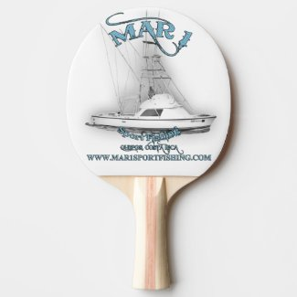 Mar 1 Sport Fishing 31' Bertram Ping Pong Paddle