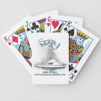Mar 1 Sport Fishing 31' Bertram Playing Cards