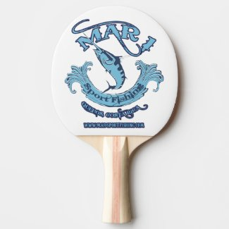 Mar 1 Sport Fishing Classic Ping Pong Paddle
