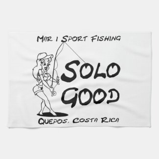 Mar 1 Sport Fishing Solo Good Kitchen Towel