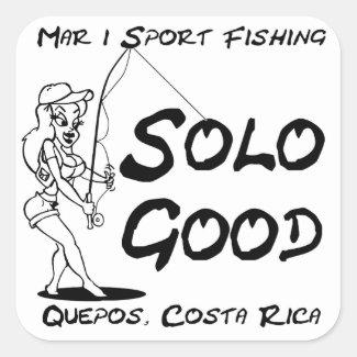 Mar 1 Sport Fishing Solo Good Sticker