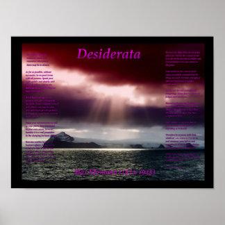 Mar abierto póster