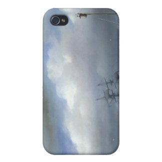 Mar agitado en el clima tempestuoso, 1846 iPhone 4/4S carcasas