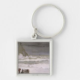 Mar agitado en Etretat, 1868-69 Llavero