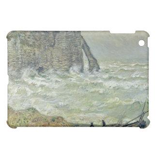 Mar agitado Etretat - Claude Monet