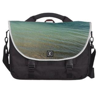 Mar azul bolsas para portatil