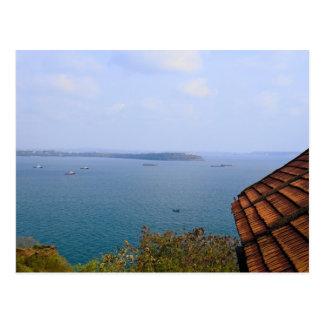 Mar azul de Goa, la India Postal