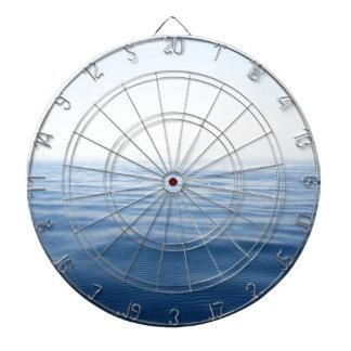 mar azul profundo tabla dardos