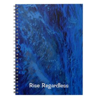 Mar azul profundo note book