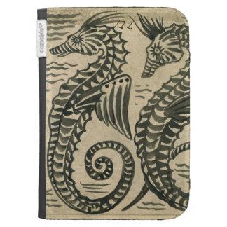 Mar-Caballo (w/c en el papel)