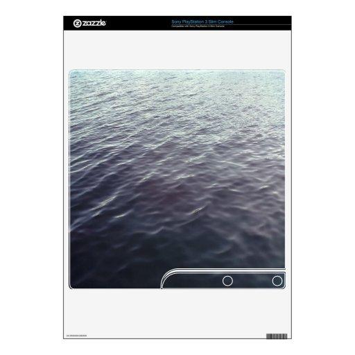Mar Calcomanía Para El PS3 Slim