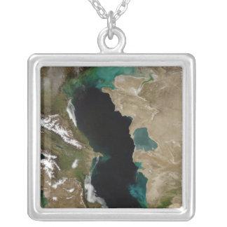 Mar Caspio Colgante Cuadrado