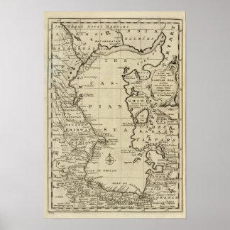 Mar Caspio Poster