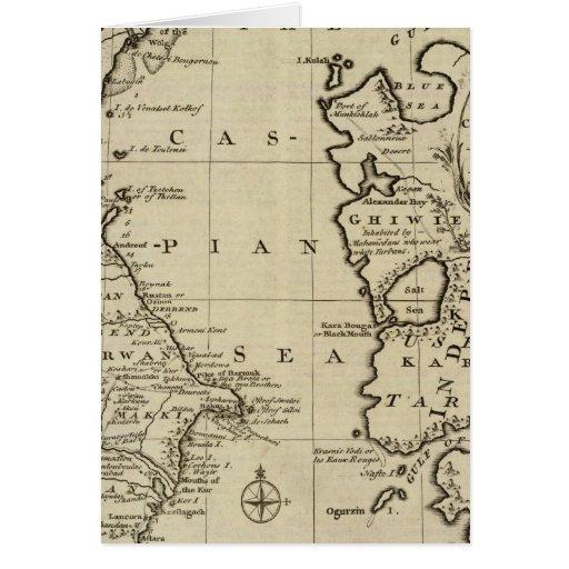 Mar Caspio Tarjetas