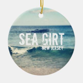Mar ceñido 2013 - recuperación en la orilla adorno redondo de cerámica