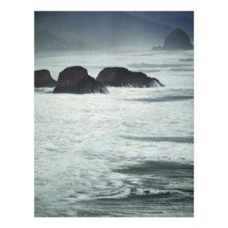 """Mar crepuscular folleto 8.5"""" x 11"""""""