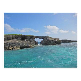mar de Antigua Postal