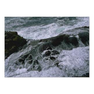Mar de batido invitación 12,7 x 17,8 cm