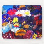 Mar de coral alfombrilla de ratón
