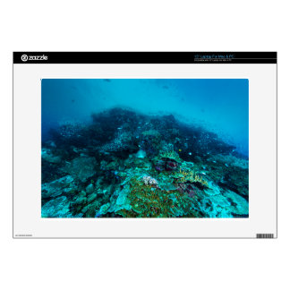 Mar de coral tropical de los pescados de la gran calcomanías para 38,1cm portátiles