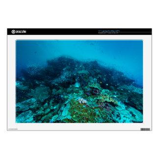 Mar de coral tropical de los pescados de la gran portátil skins
