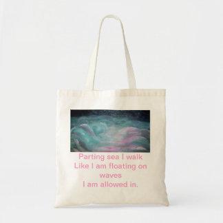 Mar de despedida, bolso bolsa tela barata