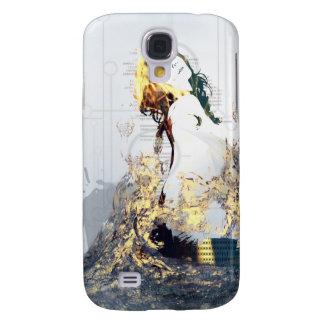 Mar de Digitaces - caso del iPhone 3 Funda Para Galaxy S4