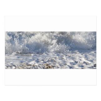 Mar de ebullición (el nr de la playa de Sennen Postal