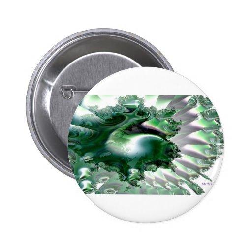 Mar de Emerald.jpg Pin Redondo 5 Cm