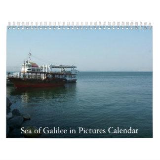 Mar de Galilea en imágenes exclusivas Calendario De Pared