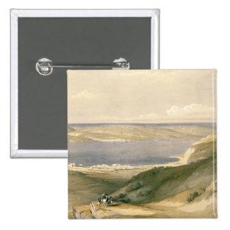 Mar de Galilea o de Genezareth, mirando hacia golp Pins