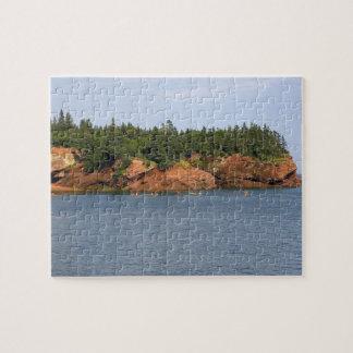 Mar de la gente kayaking en la bahía de Fundy en e Puzzles Con Fotos