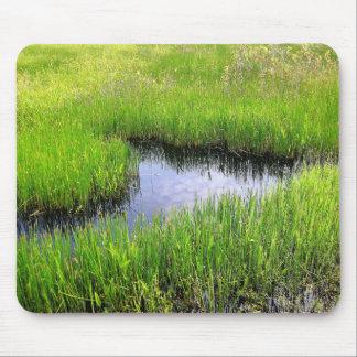 Mar de la hierba mousepad