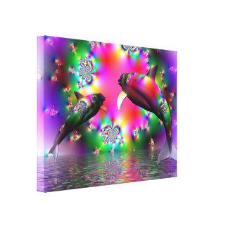 Mar de la libertad - impresión de la lona impresión en lona estirada
