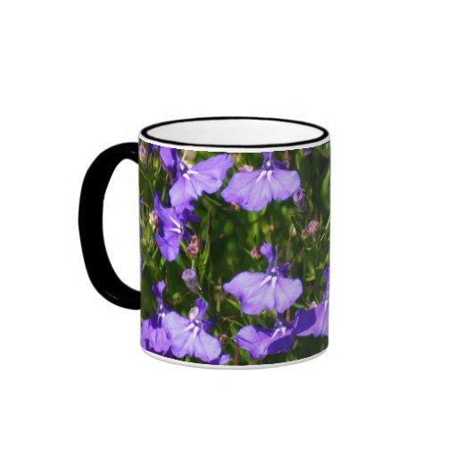Mar de la púrpura taza de café