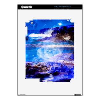 Mar de la serenidad skin para el iPad 2