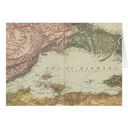 Mar de Mármara Tarjeta De Felicitación