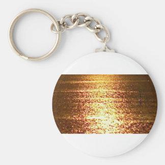 mar de oro llavero redondo tipo pin